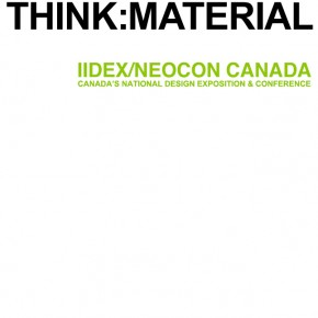 THINK:Material features BlingCrete™ at IIDEX 2011 Toronto, Canada