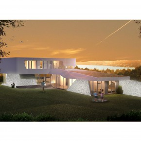 BlingCrete™ is commissioned for Haus Berg – private Villa at Lake Starnberg